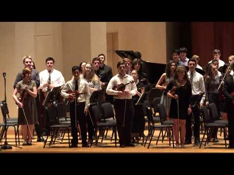 Baylor University Music Camp 2017 -  Full Symphony Orchestra plays The Cowboys Overture