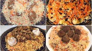 4 Afghani Pulao Recipe Ramadan Special چهار نوع قابلی مختلف افغانی