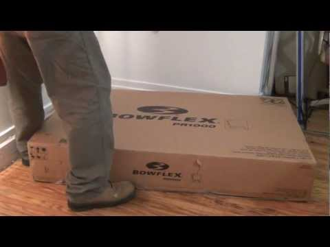 Bowflex PR1000 Fitness Machine Unboxing-My New One