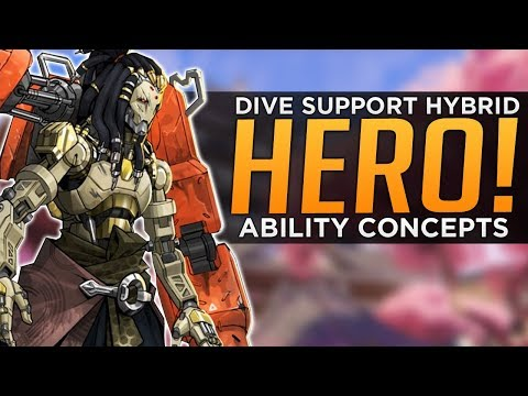 Overwatch: New Hero & Abilities Concept - Dive Support Hybri