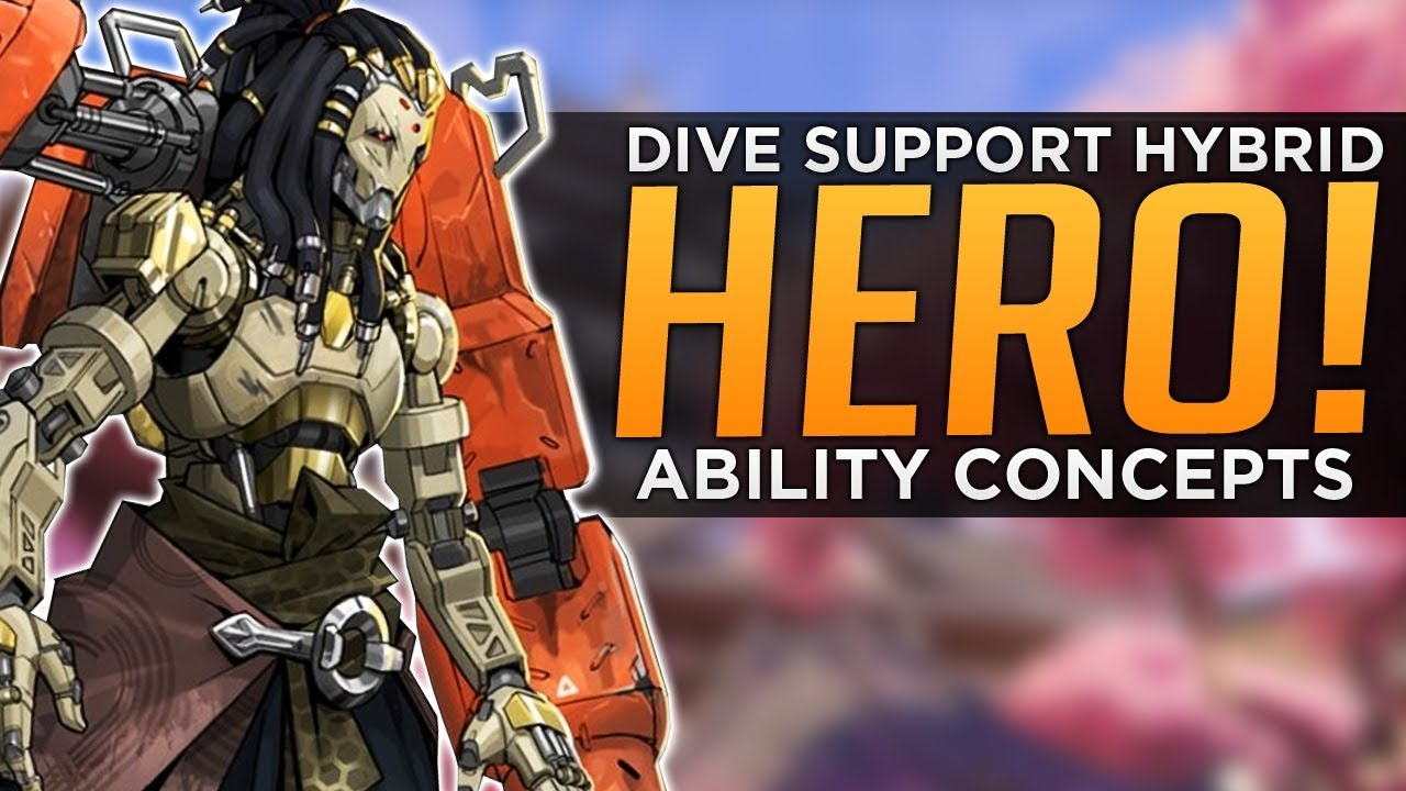 Download Overwatch: New Hero & Abilities Concept - Dive Support Hybrid