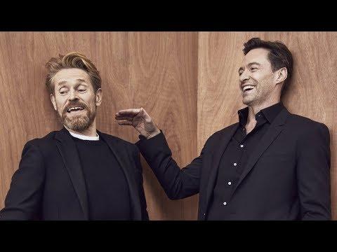 Download Youtube: Actors on Actors: Hugh Jackman and Willem Dafoe (Full Video)