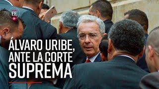 Uribe ante la Corte: así se vivió su llegada al Palacio de Justicia para indagatoria | El Espectador
