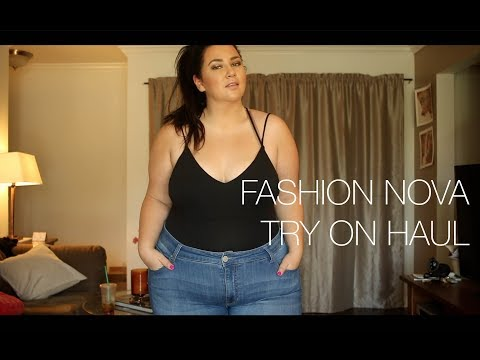 PLUS SIZE FASHION TRY ON HAUL | FASHION NOVA! & INSIDE THE D