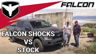 Falcon Shocks: Falcon vs. Stock