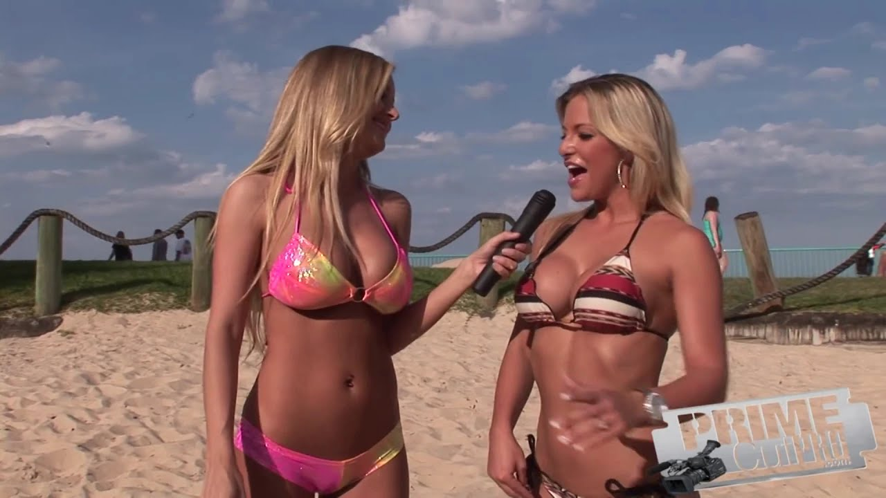 Bikini Beach Interview - Jessica & Nicole