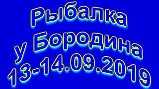 Рыбалка у Бородина 13 14 09 2019