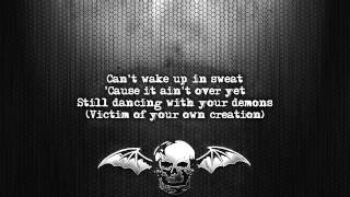 Avenged Sevenfold - Nightmare [Lyrics on screen] [Full HD]