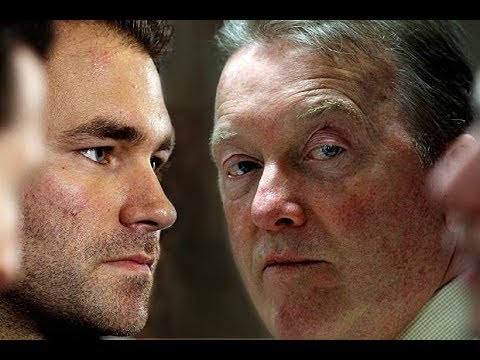 EDDIE HEARN vs FRANK WARREN IN 2018 MEANS MORE QUALITY EVENTS!!