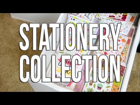 Planner Stationery Collection and Organization