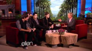 Big Time Rush on The Ellen Show