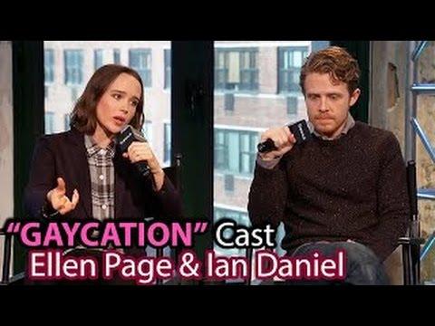 FUN GAYCATION INTERVIEW! ELLEN PAGE & IAN DANIEL ON FRIENDSHIP, KARAOKE, & LGBT CULTURES