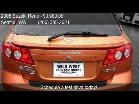 Wild West Cars And Trucks >> 2005 Suzuki Reno Lx 4dr Hatchback For Sale In Seattle Wa 98 Youtube
