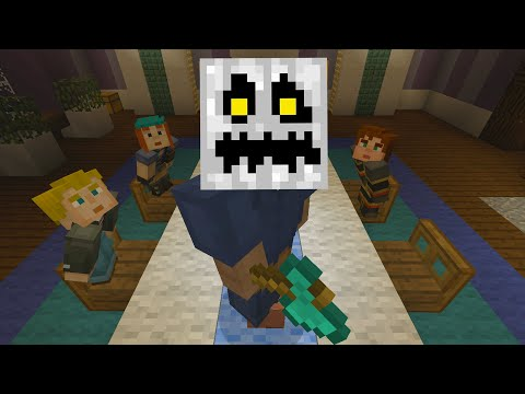 Minecraft Xbox - Murder Mystery - White Pumpkins Mansion (2)