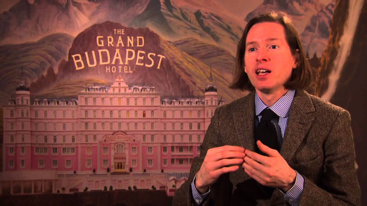 Wes Anderson Grand Budapest Hotel