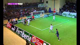 Liga de Fútbol Indoor: Real Madrid-Barcelona