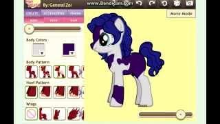 Урок по пони креатору.Как сделать другого цвета рог/крылья