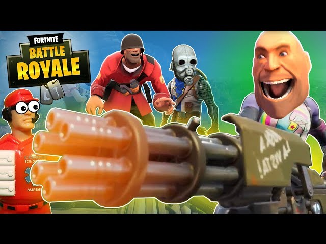 Heavy Plays Fortnite: Battle Royale (feat. Babies & Cowards from L4D2 & HL2)
