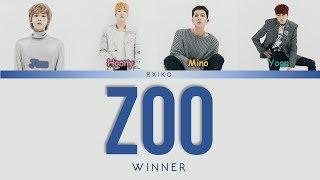 [3.29 MB] WINNER (위너) - 'ZOO (동물의 왕국)' Lyrics Han | Rom | Eng