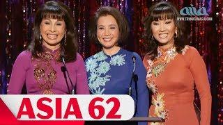 Một Đời Cho Âm Nhạc   ASIA 62 FULLSHOW   Như Quỳnh, Đan Nguyên, Mạnh Đình, Băng Tâm