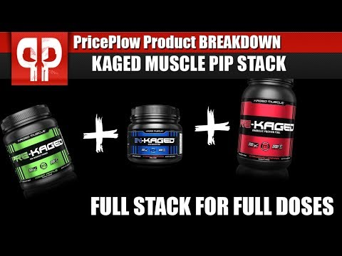 FULL Stack for FULL Doses!   Kaged Muscle PIP Stack!
