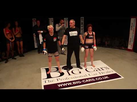 BCMMA11 Bryony Tyrell Vs  Wendy McKenna  Amateur 115lbs Strawweight Title Contest