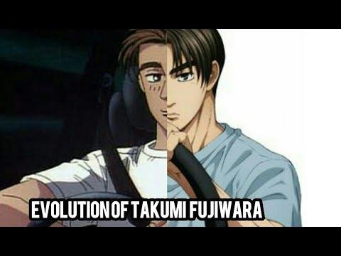 Initial D: Evolution Of Takumi Fujiwara In 3 Minutes (1998-2019)