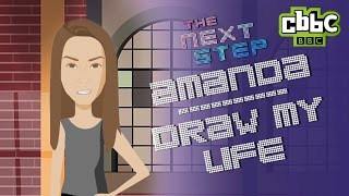 The Next Step: Amanda - Draw My Life - CBBC (contains spoilers)