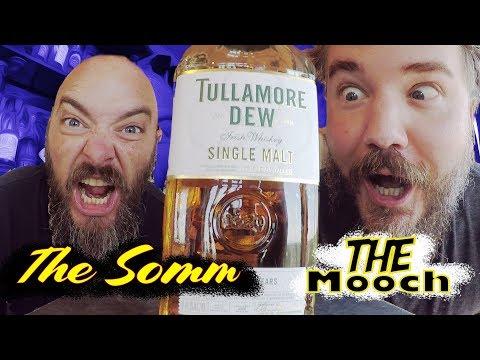 Whiskey Review: Tullamore D.E.W. 18 Year Old Single Malt Whiskey + Bushmills Black Bush Comparison