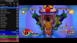 Pac-Man World Rally - All Tracks (PSP) Speedrun in: 43:16.79