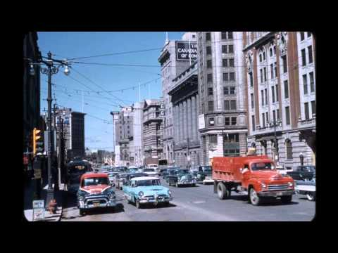 Vintage WINNIPEG, Manitoba Canada pictures - all in color (Pt. 2)