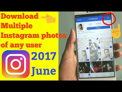 how to download instagram multiple photos in android mobile 2017