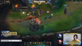 Urgot to be tilted Kenny Quintal