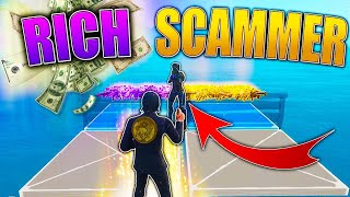 RICH Scammer SCAMS Himself For Modded 130s! (Scammer Gets Scammed) In Fortnite Save The World Pve