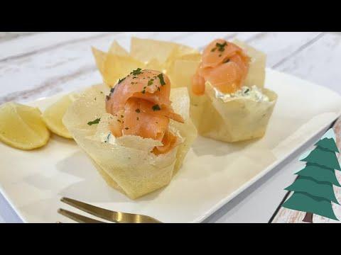 ❄️-recette-entrée-de-noël-facile-&-rapide:-aumônières-saumon-fumé