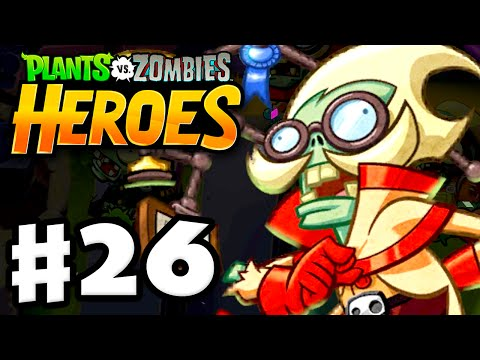 Plants vs. Zombies: Heroes - Gameplay Walkthrough Part 26 - A Fun-Dead Education! (iOS, Android)