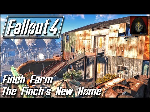 Fallout 4 | Finch Farm Settlement - Finch Family's New Home