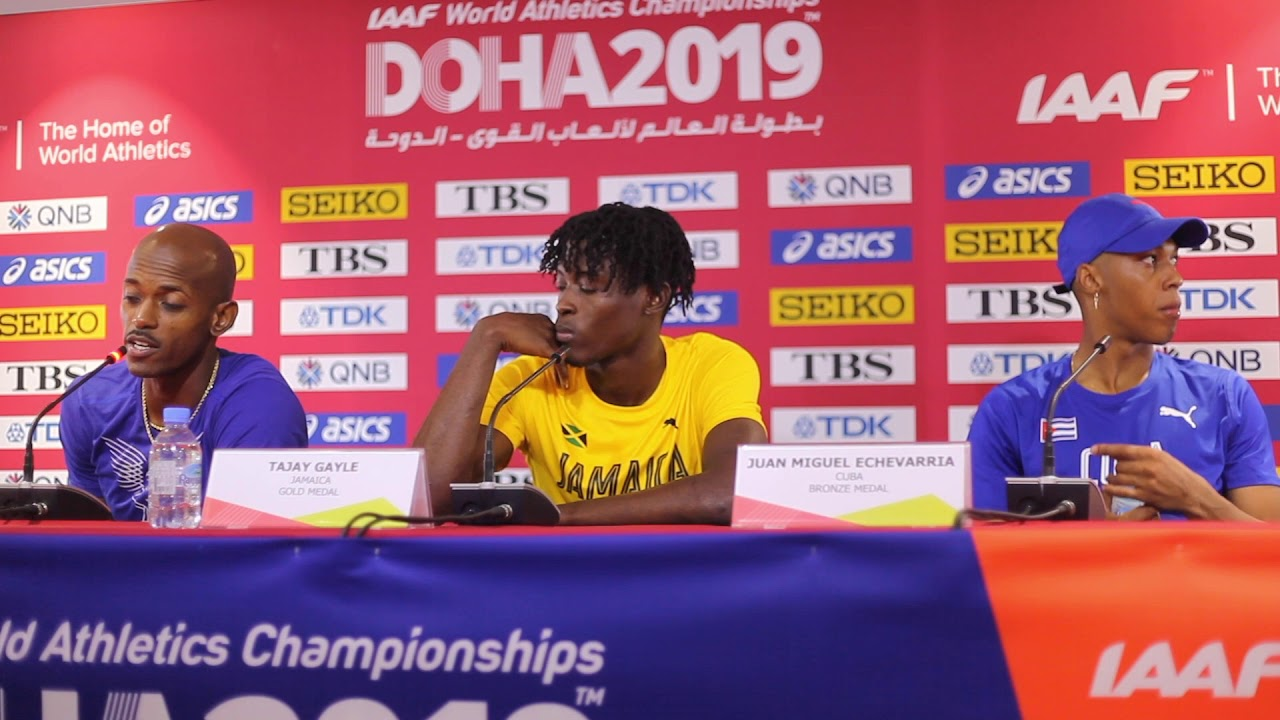 Doha WC 2019 - Men's Long Jump Final Press Conference