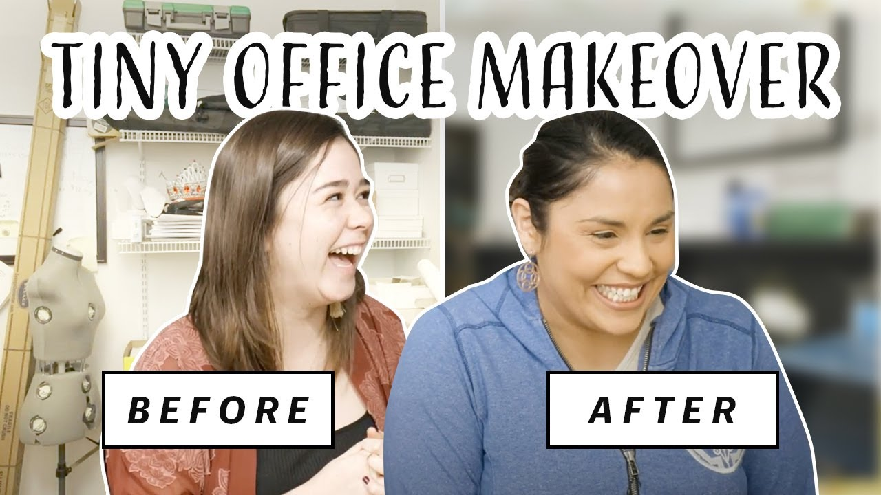 Office Makeover | *SUPER* Functional Small Space Transformation