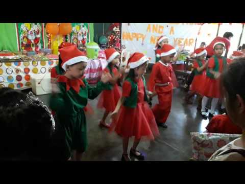 MCS Grade One-1 Christmas party