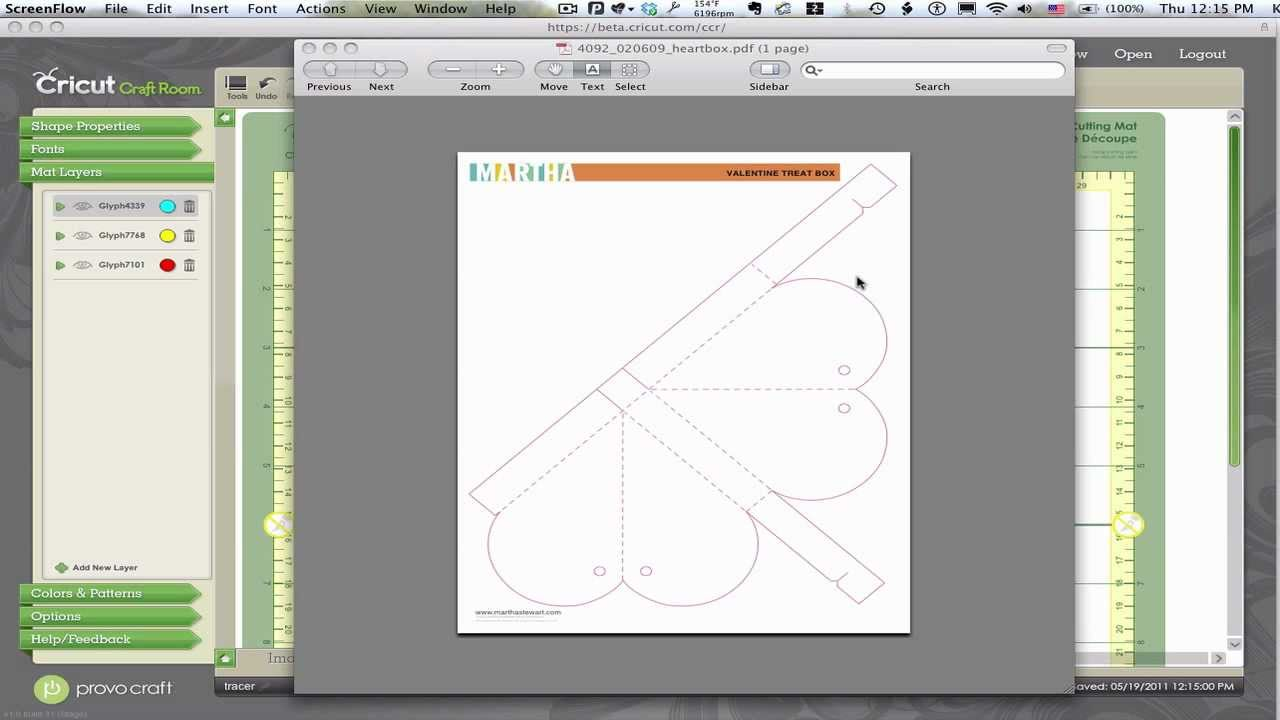 Tracing Trick for Cricut Craft Room