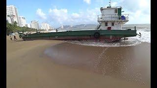 Кораблекрушение в центре Нячанга второй день отдыха