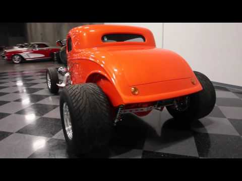 2853 ATL 1934 Ford 3 Window Coupe