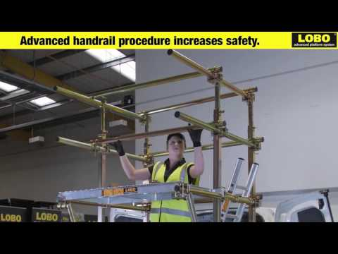 Safety Platform System distributed by Access Construction Equipment