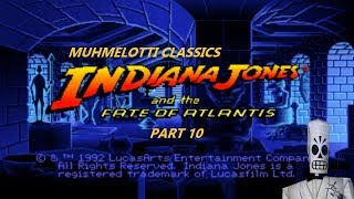Indiana Jones and the Fate of Atlantis - part 10 - doorway puzzle and colossus