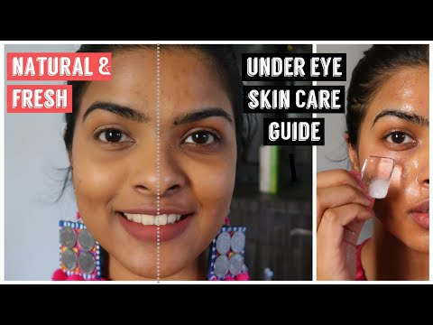 5 Everyday/ Weekly Under Eye SKIN CARE Routine   Hacks FOR Dark Circles, Puffy Eyes & Pigmentation