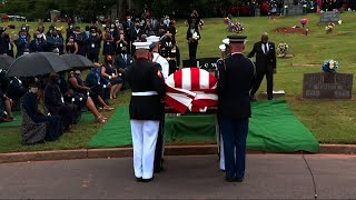 Lewis laid to rest at historic Atlanta cemetery