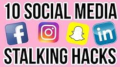 10 Social Media Stalking Hacks