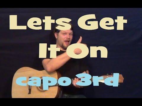 marvin gaye lets get it on guitarra