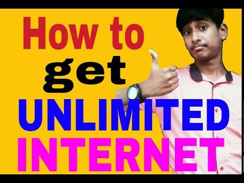 How to use FREE UNLIMITED INTERNET 3G & 4G TRICK [HINDI] FREE INTERNET REAL TRICK